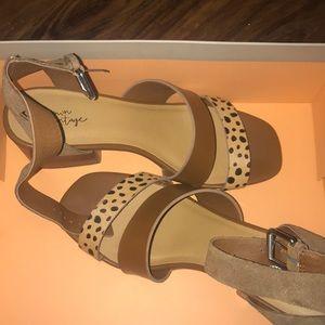 Crown vintage heeled sandals